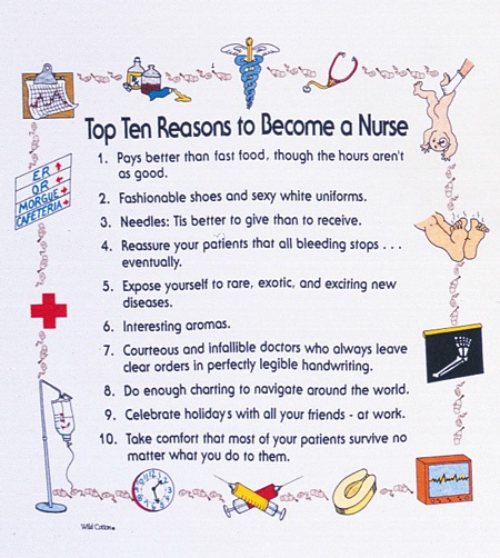 reasons for becoming a nurse essay