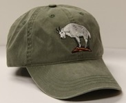 171b63609f6 Mammal Hats Embroidered Mammal species on Adjustable Ball Cap Style Hats