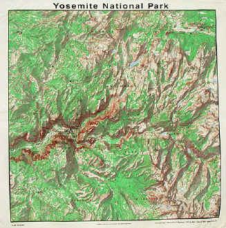 Denali National Park Topographic Map.Natural History Themes On Cotton Bandannas