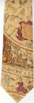 World Map Tie.Map Neckties Cartography Geography And History Maps On Neckties